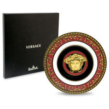 ROSENTHAL VERSACE MEDUSA RED PLATE 18CM W/ AUTHENTICITY CARD RRP$169