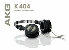 AKG-K404 Headphones Stereo Headset Earphones Foldable HiFi Sound