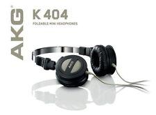 AKG-K404 Headphones Stereo Headset Earphones Foldable HiFi Sound