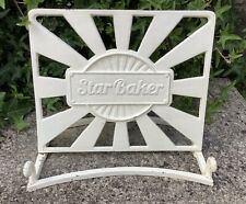 CAST IRON BAKE OFF STAR BAKER COOK BOOK RECIPE STAND / IPAD ~ SHABBY CHIC