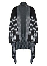 LONG cardi cardigan long sleeve waterfall light weave coat jacket XXL 20 22 NEW