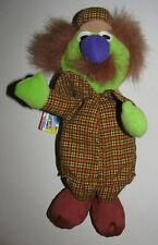 "Tyco Beans Sesame Street Sherlock Hemlock Bean 9"" Stuffed Toy Plush Vintage 1997"