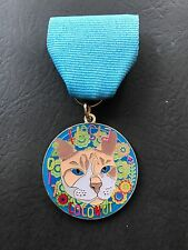 2017 Coconut the Cat Fiesta Medal