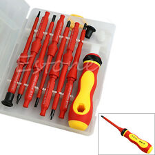 7Pcs Electrician's Insulated Electrical Single Head Hand Screwdriver Tools Hot