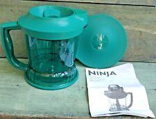 Ninja Storm 40 Oz Pitcher Splashguard Storage Lid Green QB751Q Replacement Part