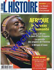 L'histoire n°293 12/2004 Afrique Le Monde jihad Moyen Age