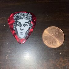 Cheap Trick Emerald Marble Red 2018 Rick Nielson Guitar Pick Rare show concert
