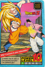 CARTE DRAGON BALL LE GRAND COMBAT N-¦ 596 BOUBOU POWER LEVEL 10