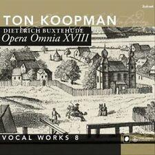 Buxtehude: Opera Omnia XVIII - Vocal Works, Vol. 8 (CD 2014, 2 Discs) KOOPMAN