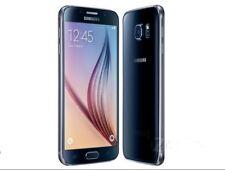 Buena Condición Samsung Galaxy S6 Negro Zafiro sm-g920f-32gb (Libre)