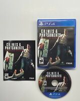 Sherlock Holmes: Crimes & Punishments (Sony PlayStation 4, 2014) Complete VG PS4