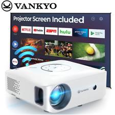 VANKYO NATIVE 1080P Leisure 530W Projektor 4K Support Beamer Heimkino 5G WiFi