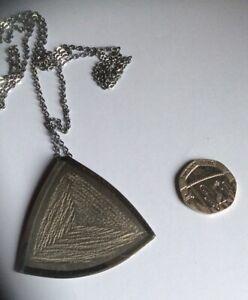 Lakeland Art Metal Work Pendant.