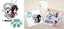 Gintama Cat Series Stand Mini Acrylic Key Chain Gintoki Sakata Shinsuke Takasugi