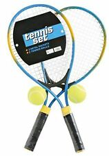 Metal Tennis Racquet Set for 2 Players by Bellco Brand New