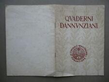 Quaderni Dannunziani Lettere D'Annunzio Al Suo Editore Mondadori Ravegnani 1958