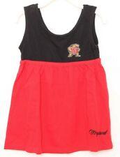 NEW Maryland Terrapins Colosseum Red Tank Top Summer Dress Toddler Girls 3T