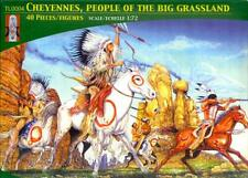Lucky Models 1/72 CHEYENNE INDIANS PEOPLE OF THE GRASSLANDS Figure Set