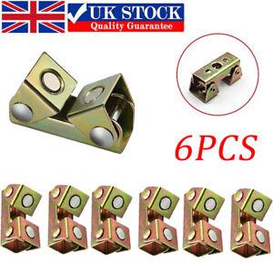 6X V-Shape Magnetic Welding Clamps Suspender Fixture Hand Holder Adjustable Tool