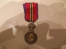 belle medaille  belge congo belge  sauveteur leopold 2