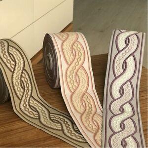 10m Jacquard Ribbon/Trim Medieval/Renaissance 70mm width Various colours