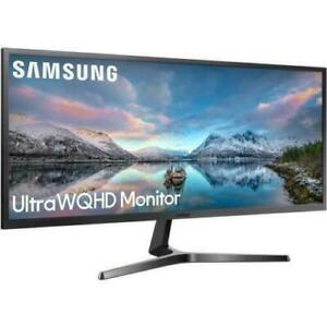 "NEW Samsung SJ55W 34"" Ultra WQHD FreeSync Monitor Gaming Ultrawide Monitor 1440p"