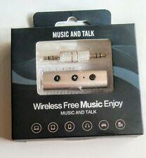 Bluetooth 4.2 Audio Receiver Car Kit Silver