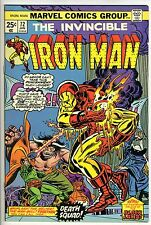 IRON MAN #72 - Black Lama - Melter - Man-Bull - Whiplash at '74 San Diego Con