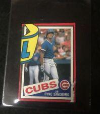 1985 Topps Box Cut Ryne Sandberg   **05793
