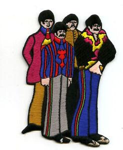 Beatles Britannique Collection:Ringo John George Paul Bande Thermocollant Patch