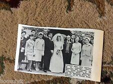 k1-3 ephemera 1966 wedding picture sylvia knight raymond mahone ramsgate