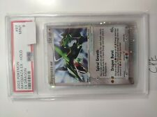 Rayquaza EX 97/97 Holo Rare - Pokemon EX Dragon 2003 - Mint PSA 9 Low Pop card
