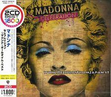 Madonna - Celebration - 2 CD Japan Press With OBI - WPCR-16039/40