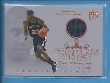 2004 Fleer Ultra scoring kings  Game Used TIM DUNCAN spurs  no.SK/TD