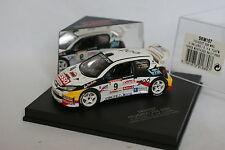 Skid 1/43 - Peugeot 206 WRC Ypres Westhoek Rally 2000