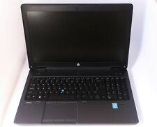 "HP ZBook 15 G2 15"" i7-4710MQ 2.5GHz 16GB RAM 250GB SSD Windows 10 Pro"