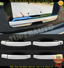 For Chevy GMC 15&up Tahoe Suburban Yukon Rear Hatch Trim+Chrome Handles Covers