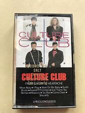 From Luxury to Heartache, Culture Club, 1986 Cassette, Boy George, Virgin/Epic
