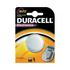 ★10 BATTERIE A BOTTONE DURACELL CR1620 LITIO 3 V PILE CR 1620 DL1620 ECR1620★