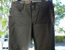 DKNY.Studs,Cotton Blend, Distress, Skinny Cropped, Military Jeans.U.S. 8. 89.00