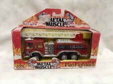 Nylint Fire Truck Vintage pump Fire Fighters Steel Tough Metal Muscle # 424 4