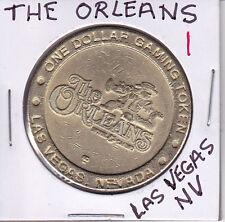 CASINO DOLLAR TOKEN CHIP COIN GAMBLING -THE ORLEANS #1 - LAS VEGAS, NEVADA