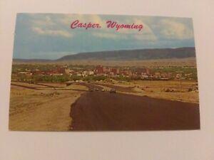 Casper Wyoming Vintage Unposted Postcard