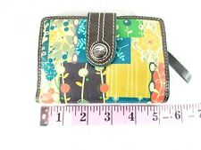 BEST OFFER FOSSIL MULTIFUNCTION MINI HIPSTER COATED CANVAS WALLET POCKETBOOK