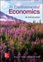 Environmental Economics 7th Edition by Barry C Field (Author), Paperback - 2016