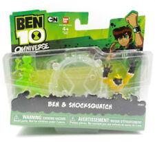 Ben 10 Omniverse Mini Figure Set w/ Ben & Shocksquatch, Bandai 2012