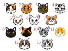 Face cat pin badge (season 2)