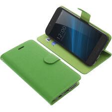 Tasche für UMIDIGI S Smartphone Book-Style Schutz Hülle Handytasche Buch Grün