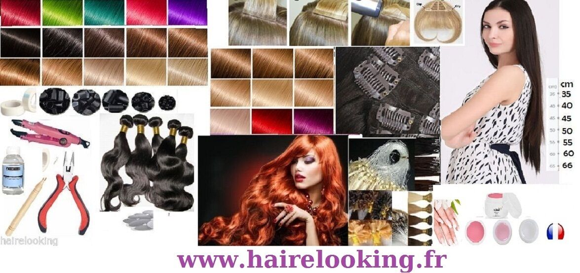 HAIRELOOKING EXTENSIONS CHEVEUX
