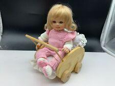 Gabriele Müller Künstlerpuppe Porzellan Puppe 21 cm. Top Zustand